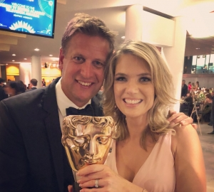 BAFTA win for ITV Racing!