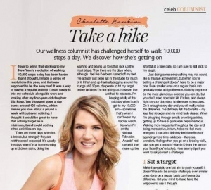 My Health & Fitness column