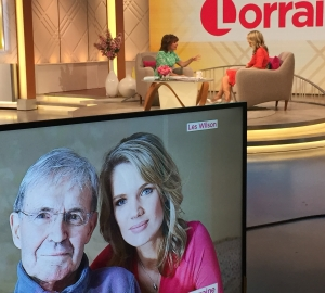 On Lorraine talking MND