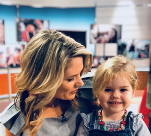 Ella Rose visits GMB