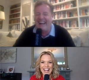 My podcast with Piers coming soon!
